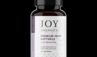 Joy Organics CBD with Melatonin Review:  A Perfect Combination for Better Sleep